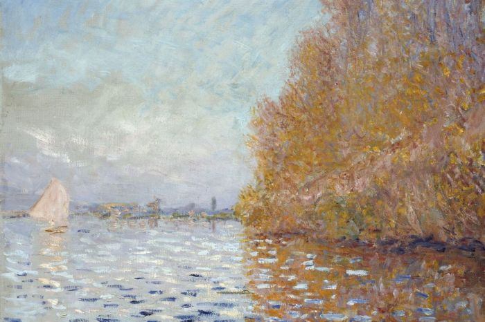 An $8 Million Monet Painting Got Punched By A Man (3 pics)