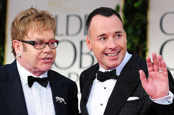 Elton John Finally Marries His Partner David Furnish (8 pics)