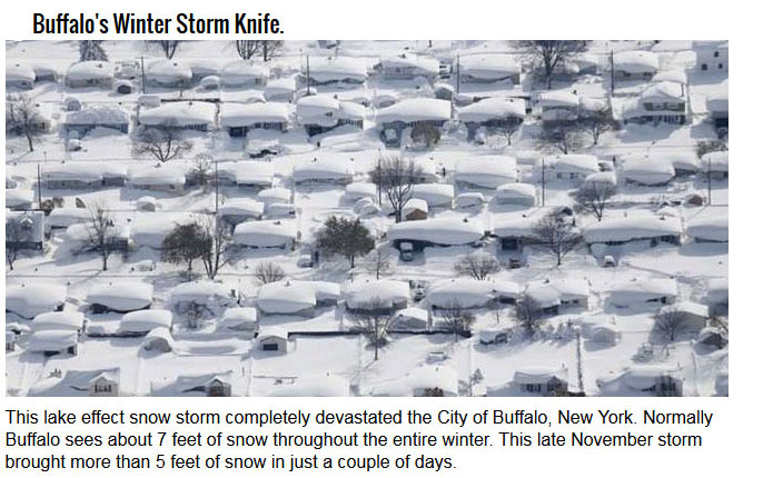 10 Winter Storms That Will Convince You To Stay Inside This Winter (10 pics)
