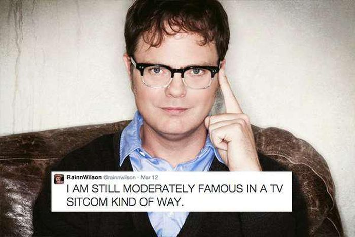 Rainn Wilson's Sense Of Humor Is Definitely Underappreciated (34 pics)