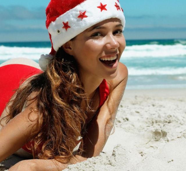 Sexy Χριστούγεννα κορίτσια που είναι τόσο άτακτος και της Νίκαιας (61 pics)