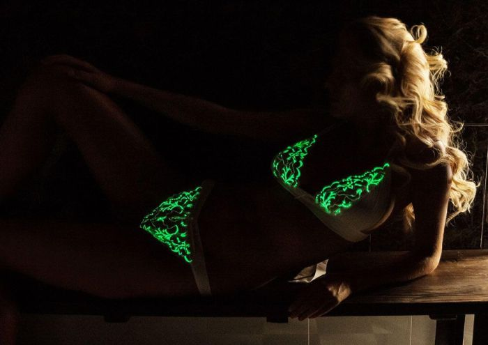 This Lingerie Glows In The Dark (9 pics)