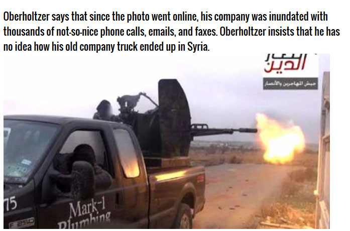 This Man Traded In His Truck And It Ended Up In The Hands Of Terrorists (4 pics)