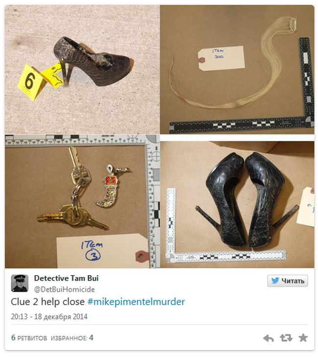 Can Twitter Users Help Solve This Murder? (3 pics)