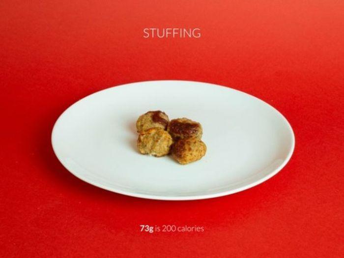 What 200 Calories Of Christmas Food Looks Like (14 pics)
