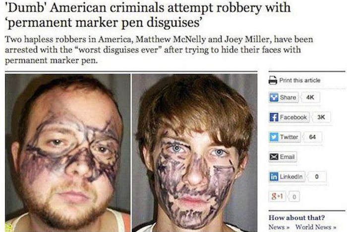 These Dumb Criminals Must Want To Get Caught (29 pics)