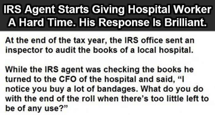 This Is How You Mess With The IRS (4 pics)