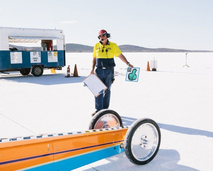 Hot Rod Races In The Australian Desert (25 pics)