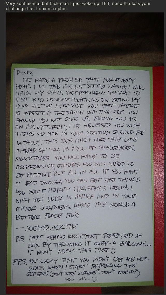 There Is Nothing Easy About Reddit's Secret Santa (27 pics)