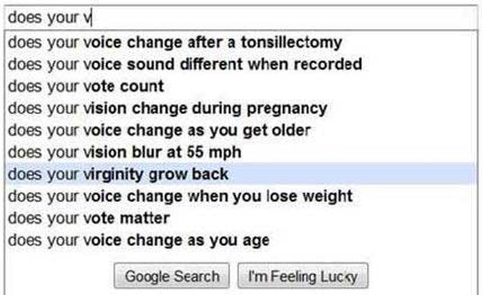 The Funniest Google Search Suggestions You'll Ever See (21 pics)