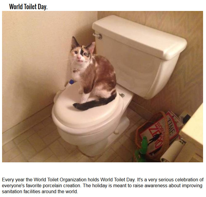 10 Strange Holidays You Won't Believe Are Real (10 pics)