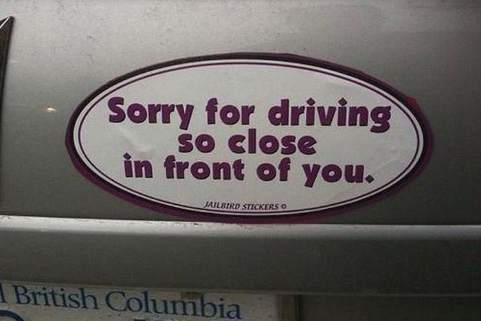 Funny And Random Bumper Stickers (29 pics)