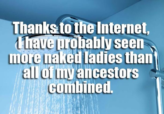 Amazing Thoughts That Could Only Happen In The Shower (20 pics)