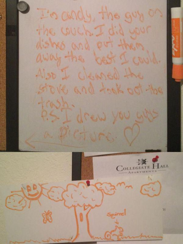 Drunk People Leave The Funniest Notes (40 pics)