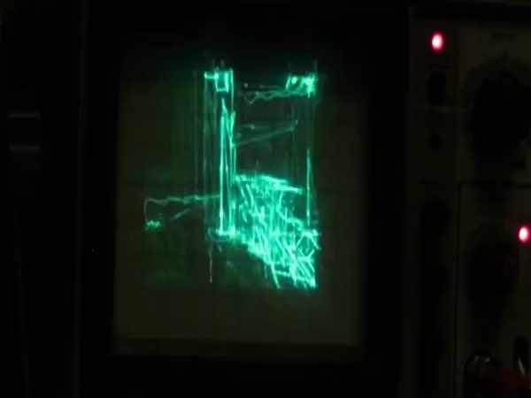 Quake On An Oscilloscope