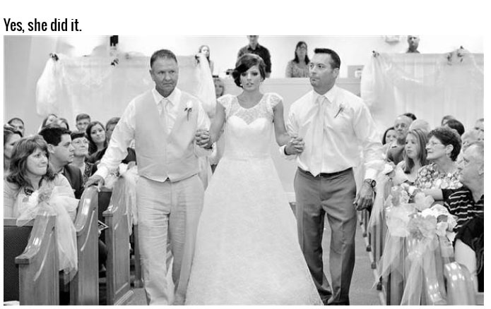 Paralyzed Bride Walks Down The Aisle On Her Own Two Feet (10 pics)