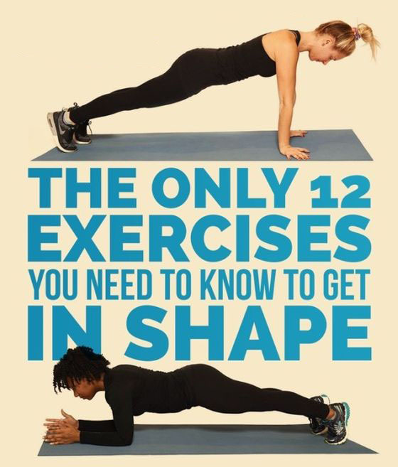 12 Exercises Guaranteed To Get You In Shape (16 pics)