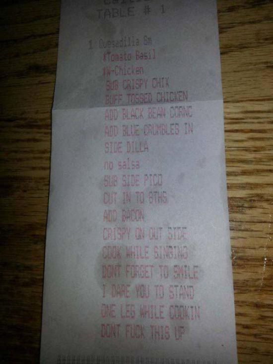 Are These Receipts Laughing At You Or With You? (24 pics)