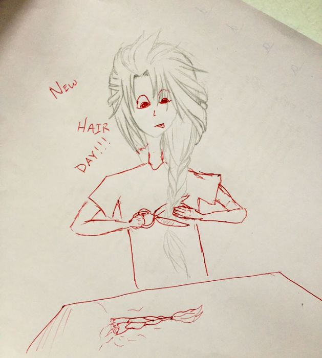 This Teacher Finishes His Students Doodles And It's Awesome (21 pics)