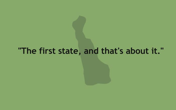 The 50 American States Summed Up In One Sentence (50 pics)