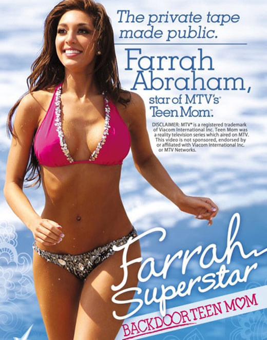 Farrah Abraham's Lip Implant Surgery Went Horribly Wrong (8 pics)