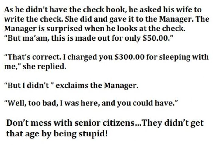 Hotel Manager Overcharges Senior Citizens But They Win In The End (4 pics)