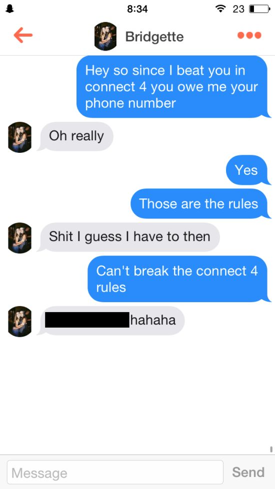 This Guy Used Connect Four To Get Numbers On Tinder (13 pics)