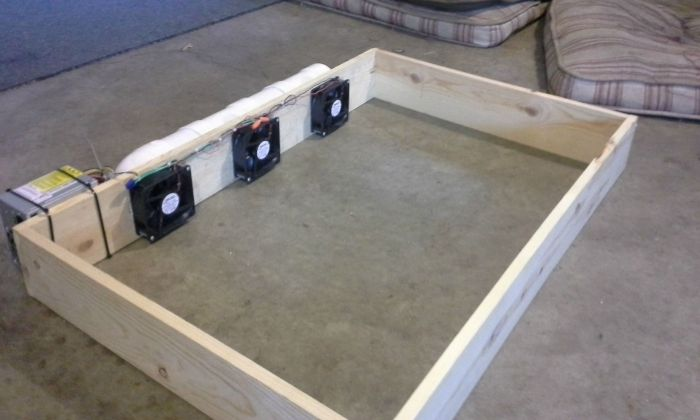 How To Make An Air Conditioned Dog Bed (8 pics)