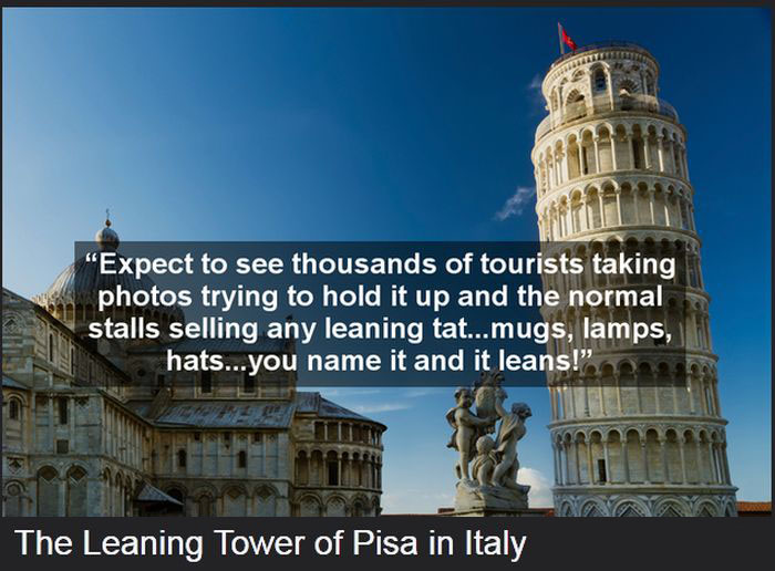 Funny One Star Reviews For The World's Most Famous Attractions (15 pics)