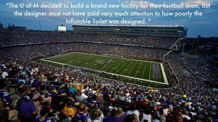 The Best One Star Yelp Reviews Of Every Team's NFL Stadium (31 pics)