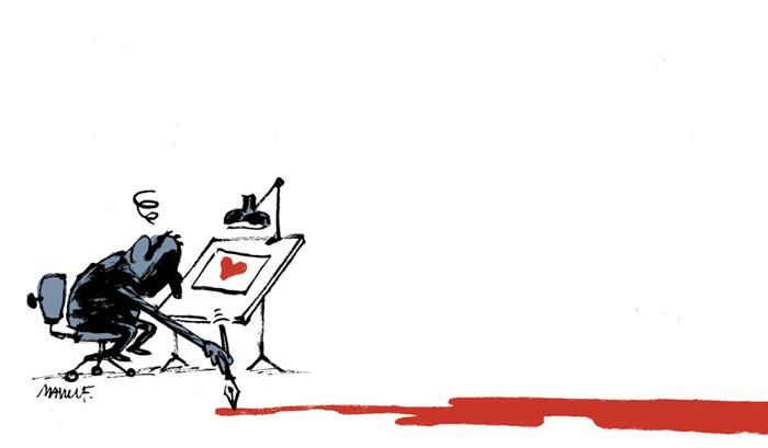 28 Cartoonists Honor The Victims Of The Charlie Hebdo Shooting (28 pics)