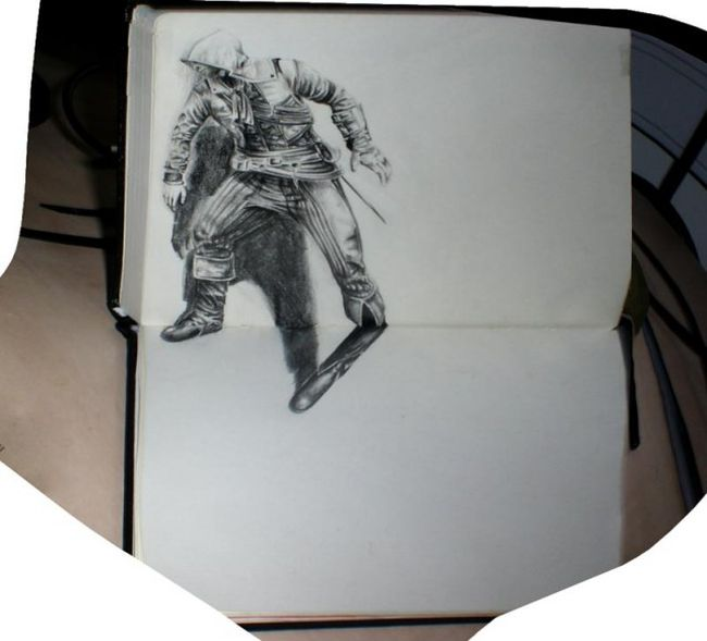 This 3D Drawing Is Amazing (3 pics)