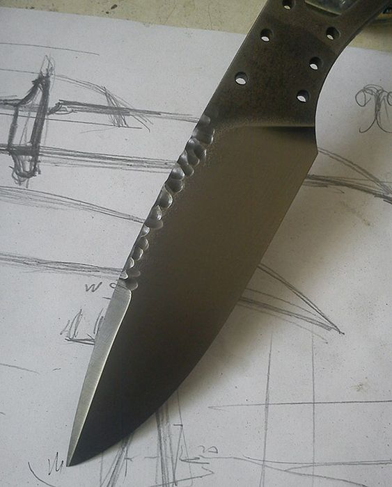How To Make Maorik Knives (41 pics)
