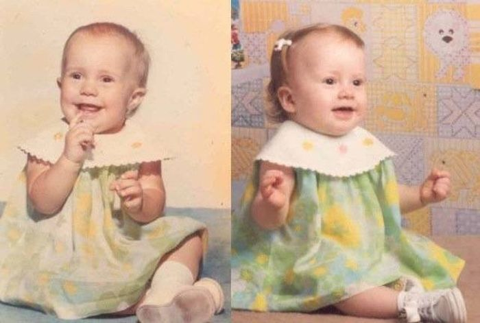 Parents That Looked Exactly Like Their Kids When They Were Younger (25 pics)
