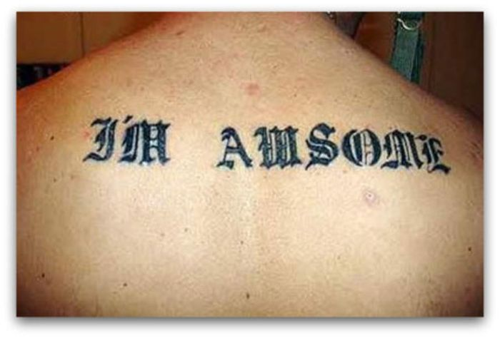 It's Too Bad No One Used Spell Check On These Tattoos (38 pics)