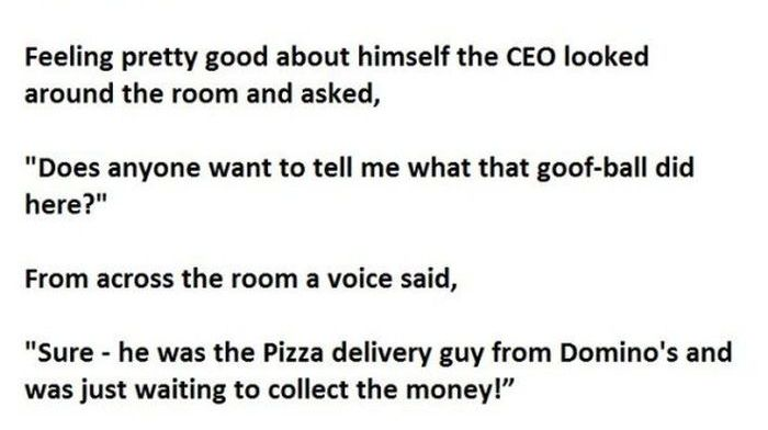 CEO Tries To Make A Point But Ends Up Making A Huge Mistake (3 pics)