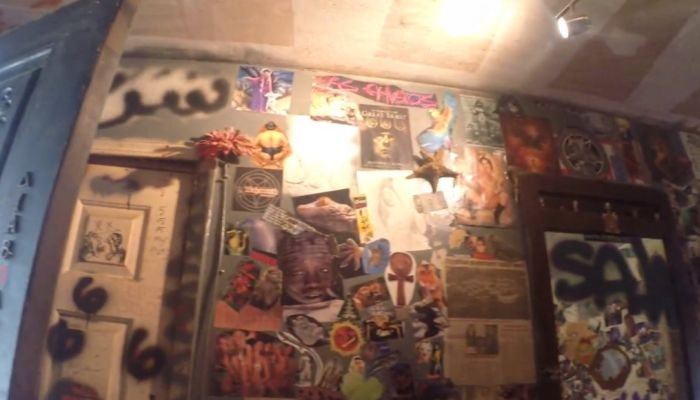 Inside The Home Of A Twisted Devil Worshipper (33 pics)
