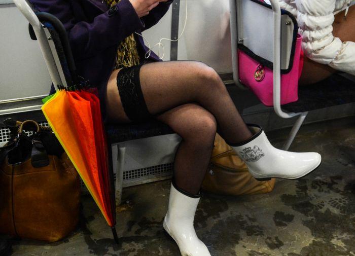 The No Pants Subway Ride Of 2015 Was A Huge Success (40 pics)