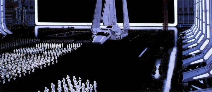 "Incredible Matte Paintings Used In Iconic ""Star Wars"" Scenes (26 pics)"