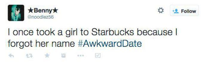 Twitter Describes Their Awkward First Dates (23 pics)