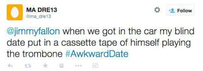 Twitter Describes Their Awkward First Dates (23 pics)