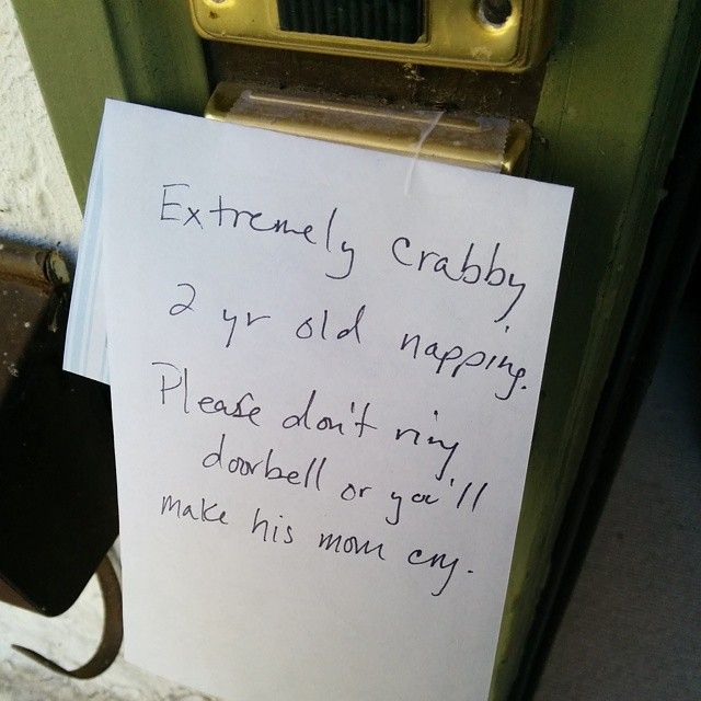 Funny Doorbell Notes From Angry Moms (17 pics)