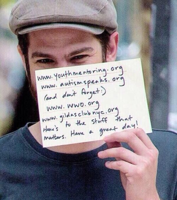 Emma Stone And Andrew Garfield Are The Best (3 pics)