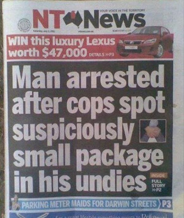 How Is This News? (20 pics)