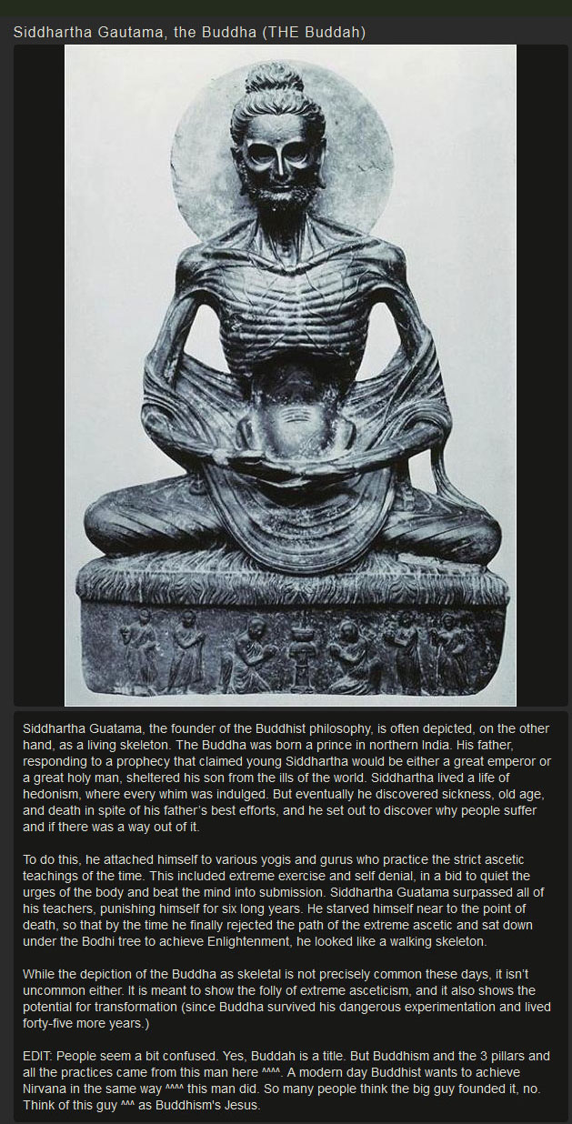 Real Facts About The Real Buddah (2 pics)