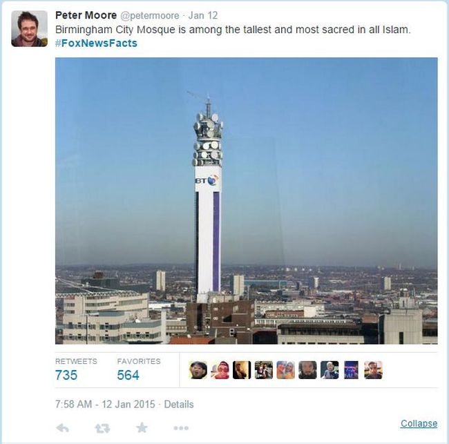 How Twitter Reacts When Fox News Says Birmingham UK Is Entirely Muslim (15 pics)
