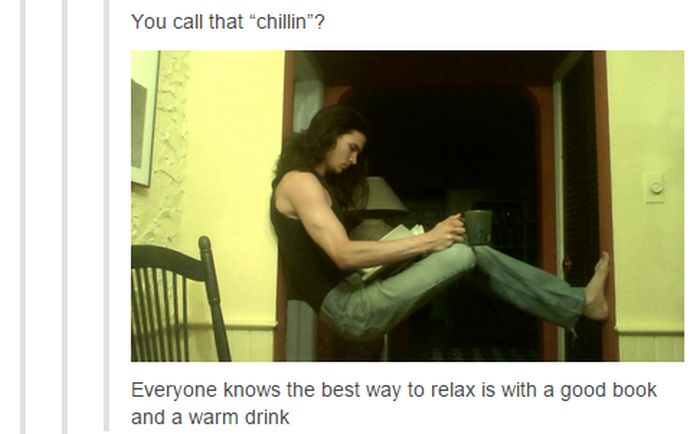 This Is A Pretty Unique Way To Chill (6 pics)