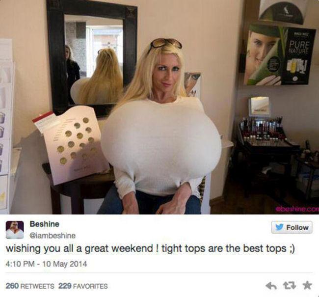 Mayra Hills, aka Beshine, Has Giant Tits (14 pics)