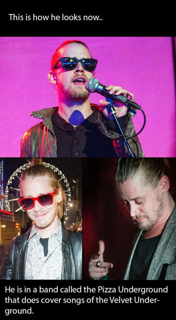 What Macaulay Culkin Is Really Up To Nowadays (8 pics)