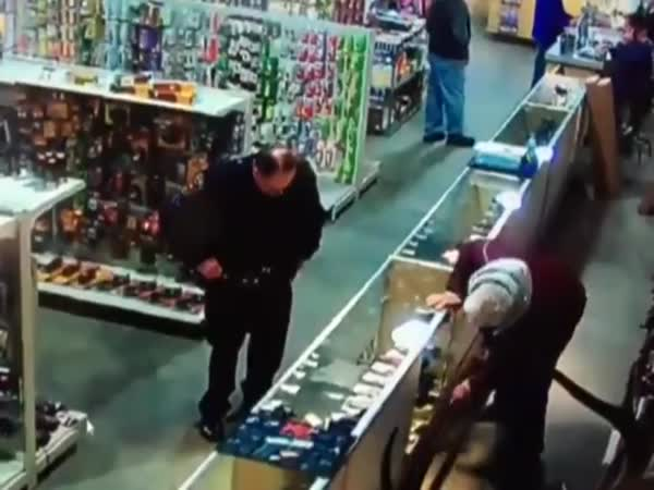 Kentucky Cop Blows His Finger Off In Gun Shop